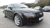 USED 2001 J AUDI TT 1.8 QUATTRO 3d 221 BHP JUST SERVICED,£600 SPENT, ALLOY WHEELS, FULL LEATHER TRIM, HEATED SEATS, CD-PLAYER, CLIMATE CONTROL, BOSE SOUND, ELECTRIC WINDOWS, REMOTE LOCKING, 2 X KEYS, ELECTRIC MIRRORS