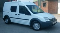 2008 FORD TRANSIT CONNECT 1.8 T230 LX LWB 110 TDCI 1d 109 BHP / DOG VAN /AIR CON / 1 OWNER F/S/H 2 KEYS VERY LOW MILES / NO VAT TO ADD / FREE 12 MONTHS WARRANTY COVER  £5990.00