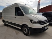 2017 VOLKSWAGEN CRAFTER CR35 TDI 2.0 5d 140 BHP FULL SERVICE HISTORY CRUISE ONE OWNER £14995.00