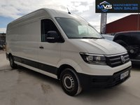 USED 2017 67 VOLKSWAGEN CRAFTER CR35 TDI 2.0 5d 140 BHP FULL SERVICE HISTORY CRUISE ONE OWNER NATIONWIDE DELIVERY MANUFACTURERS WARRANTY RESERVE NOW 0161 338 8787
