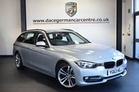 "USED 2013 63 BMW 3 SERIES 2.0 320D SPORT TOURING 5DR 181 BHP full service history  FINISHED IN STUNNING GLACIER METALLIC SILVER WITH ANTHRACITE UPHOLSTERY + FULL SERVICE HISTORY + BLUETOOTH + CRUISE CONTROL + SPORT SEATS + AUTOMATIC AIR CONDITIONING + LIGHT PACKAGE + DAB RADIO + RAIN SENSOR + 18"" ALLOY WHEELS"