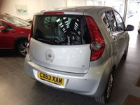 USED 2013 63 VAUXHALL AGILA 1.2 SE 5d 93 BHP This £30 tax Agila is finished in metallic steel silver & road tax is £30 for a year. It is fitted with power steering, air conditioning, tinted glass, space saver spare wheel, remote central locking, rear wash wipe, CD Stereo and more.  It has only covered 19400 miles from new, previously owned by Vauxhall Dealer + and two private ladies. It has a complete Vauxhall Service record, with receipts done at 3661/7363/8680/13395/17010 miles.