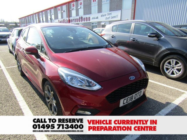 View our 2018 18 FORD FIESTA 1.0 ST-LINE 3d 99 BHP with SYNC3 Nav