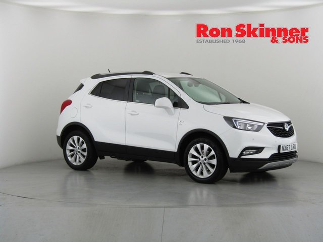 View our 2017 67 VAUXHALL MOKKA X 1.6 ELITE NAV CDTI ECOFLEX S/S 5d 108 BHP with 18in Alloys + Rear View Camera