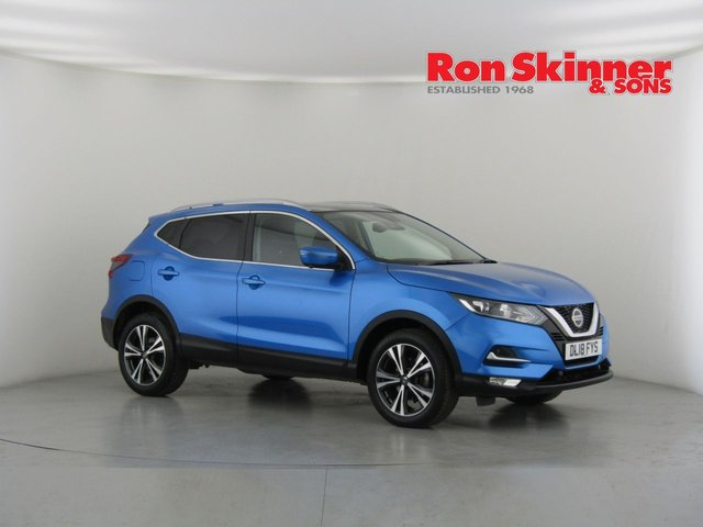 View our 2018 18 NISSAN QASHQAI 1.5 N-CONNECTA DCI 5d 108 BHP with Glass Roof + Sports Seats