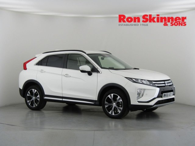 View our 2018 68 MITSUBISHI ECLIPSE CROSS 1.5 3 5d 161 BHP