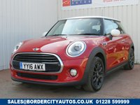 USED 2016 16 MINI HATCH COOPER 1.5 COOPER D 3d 114 BHP CHILI MEDIA XL 1 FORMER KEEPER - ZERO ROAD TAX