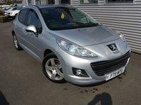 2011 PEUGEOT 207 1.6 SPORT 5d 120 BHP £4380.00