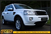USED 2013 13 LAND ROVER FREELANDER 2 2.2 TD4 BLACK AND WHITE 5d 150 BHP A FACELIFT FREELANDER WITH LOW OWNERS AND FULL HISTORY!!!