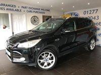 2014 FORD KUGA 2.0 TITANIUM TDCI 2WD 5d 138 BHP £SOLD