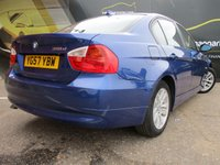 USED 2007 57 BMW 3 SERIES 2.0 318D SE 4d 121 BHP DIESEL FULL SERVICE HISTORY 90,000 MILES PART EXCHANGE AVAILABLE / ALL CARDS / FINANCE AVAILABLE