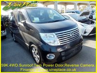 USED 2006 55 NISSAN ELGRAND Highway Star 3.5 Automatic, 4WD,8 Seats,59K.Sunroof. +59K+4WD+TWIN SUNROOF+TWIN POWER DOORS+