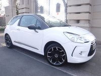 USED 2015 15 CITROEN DS3 1.2 PURETECH DSTYLE PLUS S/S 3d 109 BHP *** FINANCE & PART EXCHANGE WELCOME *** £ 20 A YEAR ROAD TAX PARKING SENSORS AIR/CON CRUISE CONTROL  CD PLAYER AUX & USB SOCKETS