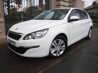 USED 2014 64 PEUGEOT 308 1.2 E-THP ACTIVE 5d 110 BHP *SAT NAV*£20 POUND ROAD TAX*CRUISE*BLUETOOTH*AUTO LIGHTS+WIPES*