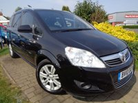 USED 2010 10 VAUXHALL ZAFIRA 1.7 ELITE CDTI ECOFLEX 5d 108 BHP **Ideal Family 7 Seater Full Vauxhall Service History 8 Services March 2020 Mot**