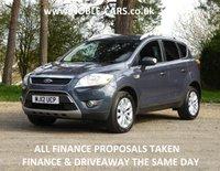 2012 FORD KUGA 2.0 TITANIUM TDCI 2WD 5d 138 BHP £8695.00