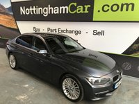 USED 2013 63 BMW 3 SERIES 2.0 320D LUXURY 4d AUTO 184 BHP