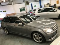 USED 2009 09 MERCEDES-BENZ C CLASS 2.1 C220 CDI SPORT 5d 168 BHP +Full Leather+History+
