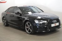 USED 2013 63 AUDI A6 2.0 TDI BLACK EDITION 4d 175 BHP LOW MILES + SAT NAV + SERVICE HISTORY + 19 INCH WHEELS + LEATHER