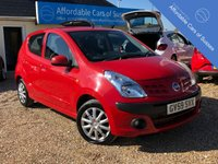 USED 2010 59 NISSAN PIXO 1.0 N-TEC 5d 67 BHP Only £20 Tax & Group 4 Insurance