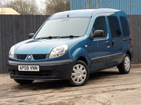 2008 RENAULT KANGOO 1.6 AUTHENTIQUE 16V 5d AUTO 94 BHP £4000.00
