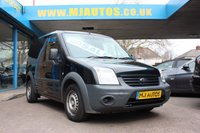 2013 FORD TRANSIT CONNECT 1.8 T200 Low Roof 74 BHP £4595.00