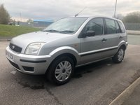 2005 FORD FUSION 1.6 FUSION 3 5d 100 BHP £SOLD