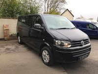 USED 2015 15 VOLKSWAGEN TRANSPORTER SHUTTLE 2.0 T30 TDI SHUTTLE SE DSG LWB 9 SEAT 9 Seats, Automatic, Long Wheel Base, One Owner