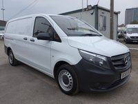 USED 2015 65 MERCEDES-BENZ VITO 1.6 111 CDI LWB, 114 BHP, LOW MILES