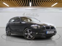 USED 2015 15 BMW 1 SERIES 2.0 116D SPORT 5d AUTO 114 BHP - LEZ COMPLIANT |  1 OWNER | FULLY SERVICED | 2 KEYS