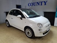 USED 2013 13 FIAT 500 1.2 LOUNGE 3d 69 BHP * TWO OWNERS * GREAT SPEC *