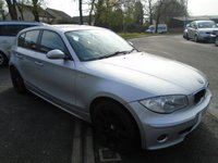 USED 2005 K BMW 1 SERIES 2.0 120D SE 5d 161 BHP GREAT VALUE, GOOD SERVICE HISTORY WITH 15 STAMPS IN THE BOOK,