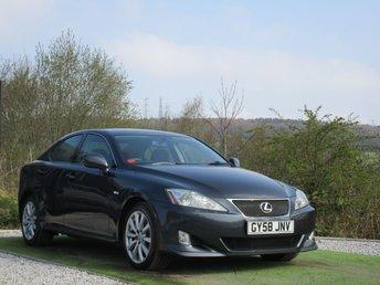 2008 LEXUS IS 2.5 250 SR 4d AUTO 204 BHP £3990.00