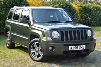 2009 JEEP PATRIOT 2.0 LIMITED CRD 5d 139 BHP £4500.00
