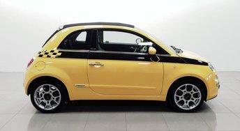 2009 FIAT 500 1.4 C LOUNGE DUALOGIC 3d AUTO 99 BHP £4950.00