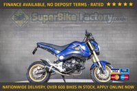USED 2015 15 HONDA MSX 125 GOOD & BAD CREDIT ACCEPTED, OVER 600+ BIKES IN STOCK