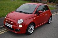 2014 FIAT 500 1.2 S 3d 69 BHP £5499.00