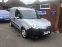 USED 2014 14 VAUXHALL COMBO 1.2 2300 L1H1 CDTI 1d 90 BHP NO VAT, ONLY 41K MILES