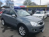 2012 VAUXHALL ANTARA 2.2 SE CDTI 5 DOOR AUTO 182 BHP IN METALLIC GREY WITH 50000 MILES IN IMMACULATE CONDITION WITH SAT NAV. £7499.00