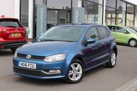 2016 VOLKSWAGEN POLO 1.0 TSI BlueMotion Tech Match 5d £8538.00