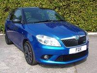2011 SKODA FABIA 1.4 VRS DSG 5d AUTO 180 BHP £4595.00