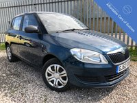 USED 2012 62 SKODA FABIA 1.2 S 12V 5d 68 BHP Very Low Mileage for Year
