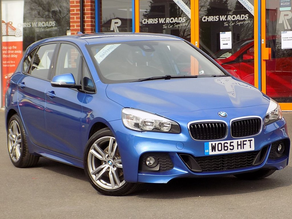 USED 2016 65 BMW 2 SERIES ACTIVE TOURER 2.0 218d M Sport 5dr ** Sat Nav + Leather **