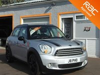 """USED 2013 13 MINI COUNTRYMAN 1.6 COOPER D ALL4 5d 112 BHP 17"""" Alloys, Parking Sensors, 4 Service Stamps, Cd player, 4WD"""