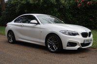 2016 BMW 2 SERIES 1.5 218I M SPORT 2d 134 BHP £SOLD
