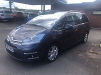 USED 2012 62 CITROEN C4 GRAND PICASSO 1.6 PLATINUM HDI 5d 110 BHP 7 SEATER SEATS GRAND PICASSO, SERVICE HISTORY