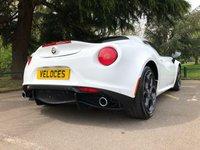 USED 2016 16 ALFA ROMEO 4C 1.7 TBI 2d AUTO 240 BHP