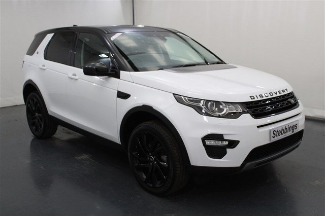 2018 18 LAND ROVER DISCOVERY SPORT 2.0 TD4 HSE BLACK 5d AUTO 180 BHP *7SEATS*