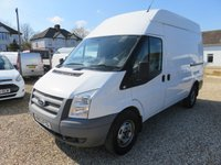 2013 FORD TRANSIT 2.2 TDCI 350 MWB HIGH ROOF 100 BHP 1 OWNER AIR CON 15,473 MILES  £9995.00