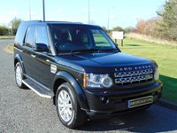 USED 2012 12 LAND ROVER DISCOVERY 3.0 4 SDV6 HSE 5d AUTO 255 BHP SAT NAV, DAB, REAR CAMERA